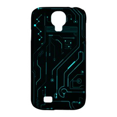 Circuit Board Samsung Galaxy S4 Classic Hardshell Case (pc+silicone) by TheTalkingDead