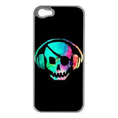 Pirate Music Apple Iphone 5 Case (silver) by TheTalkingDead
