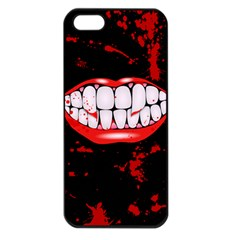 The Phone With Bite Apple Iphone 5 Seamless Case (black)