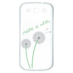 Make A Wish Samsung Galaxy S3 S Iii Classic Hardshell Back Case by TheTalkingDead