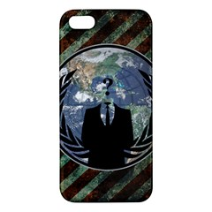 World Wide Anonymous Iphone 5 Premium Hardshell Case