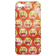 Epic Face Apple Iphone 5 Hardshell Case by Contest1775858