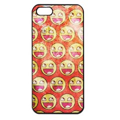 Epic Face Apple Iphone 5 Seamless Case (black) by Contest1775858