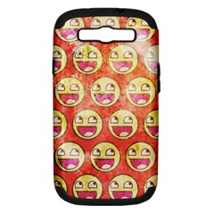 Epic Face Samsung Galaxy S Iii Hardshell Case (pc+silicone) by Contest1775858