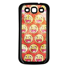 Epic Face Samsung Galaxy S3 Back Case (black)