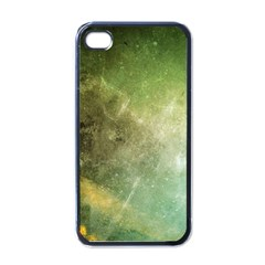 Green Grunge Apple Iphone 4 Case (black)
