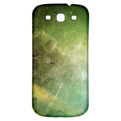 Green Grunge Samsung Galaxy S3 S Iii Classic Hardshell Back Case