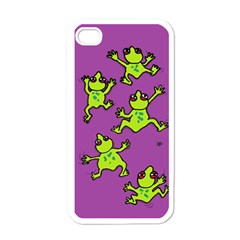 Sticky Things Apple Iphone 4 Case (white) by Contest1760572