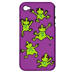 Sticky Things Apple Iphone 4/4s Hardshell Case (pc+silicone)