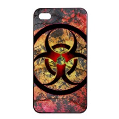 Biohazard Apple Iphone 4/4s Seamless Case (black)
