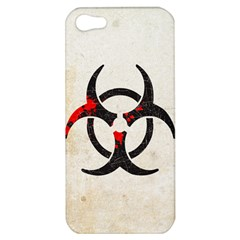 Biohazard Symbol Apple Iphone 5 Hardshell Case