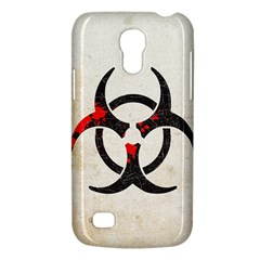 Biohazard Symbol Samsung Galaxy S4 Mini Hardshell Case  by Contest1775858