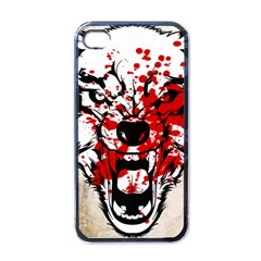 Blood Wolf Apple Iphone 4 Case (black)