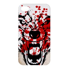 Blood Wolf Apple Iphone 4/4s Premium Hardshell Case by Contest1775858