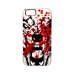 Blood Wolf Apple Iphone 5 Classic Hardshell Case (pc+silicone)