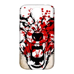 Blood Wolf Samsung Galaxy S4 Classic Hardshell Case (pc+silicone)