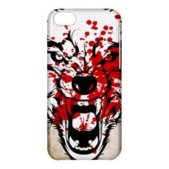 Blood Wolf Apple Iphone 5c Hardshell Case by Contest1775858