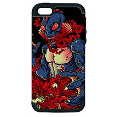 Creature Apple Iphone 5 Hardshell Case (pc+silicone) by Contest1775858