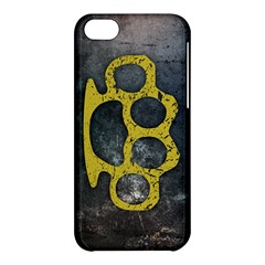 Brass Knuckles Apple Iphone 5c Hardshell Case by Contest1775858