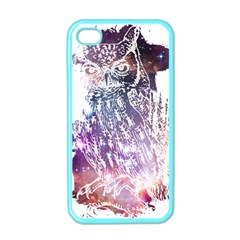 Cosmic Owl Apple Iphone 4 Case (color) by Contest1775858
