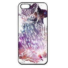 Cosmic Owl Apple Iphone 5 Seamless Case (black) by Contest1775858