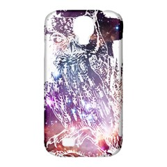 Cosmic Owl Samsung Galaxy S4 Classic Hardshell Case (pc+silicone)
