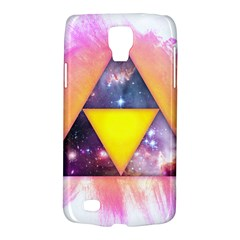 Cosmic Triple Triangles Samsung Galaxy S4 Active (i9295) Hardshell Case by Contest1775858