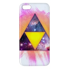 Cosmic Triple Triangles Iphone 5s Premium Hardshell Case by Contest1775858
