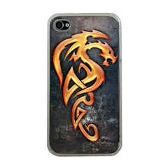 Golden Dragon Apple Iphone 4 Case (clear)