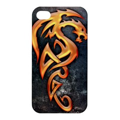 Golden Dragon Apple Iphone 4/4s Hardshell Case by Contest1775858