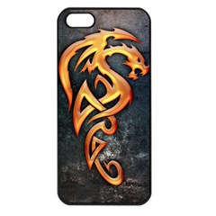 Golden Dragon Apple Iphone 5 Seamless Case (black)