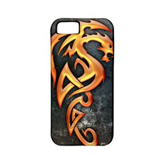 Golden Dragon Apple Iphone 5 Classic Hardshell Case (pc+silicone)