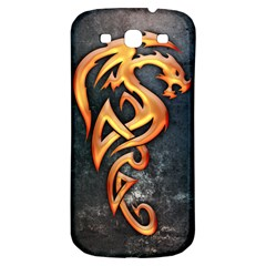 Golden Dragon Samsung Galaxy S3 S Iii Classic Hardshell Back Case