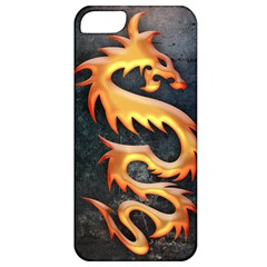 Golden Tribal Dragon Apple Iphone 5 Classic Hardshell Case
