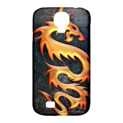 Golden Tribal Dragon Samsung Galaxy S4 Classic Hardshell Case (pc+silicone)
