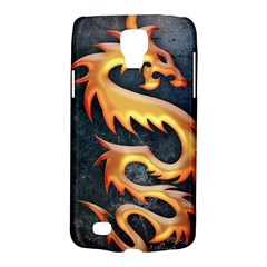Golden Tribal Dragon Samsung Galaxy S4 Active (i9295) Hardshell Case