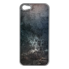 Grunge Metal Texture Apple Iphone 5 Case (silver)