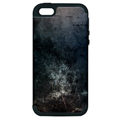 Grunge Metal Texture Apple Iphone 5 Hardshell Case (pc+silicone)