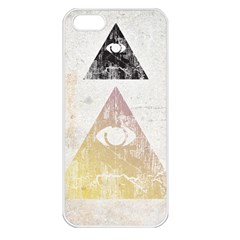All Seeing Eye Apple Iphone 5 Seamless Case (white) by Contest1775858