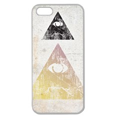 All Seeing Eye Apple Seamless Iphone 5 Case (clear) by Contest1775858