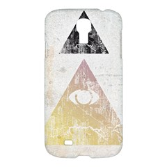 All Seeing Eye Samsung Galaxy S4 I9500/i9505 Hardshell Case by Contest1775858