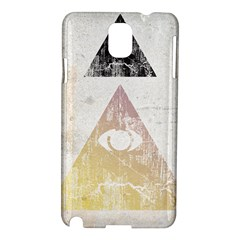 All Seeing Eye Samsung Galaxy Note 3 N9005 Hardshell Case