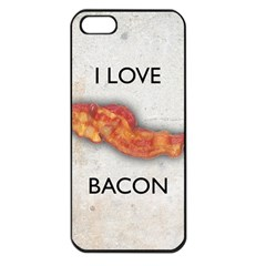 I Love Bacon Apple Iphone 5 Seamless Case (black)