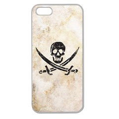 Pirate Apple Seamless Iphone 5 Case (clear) by Contest1775858
