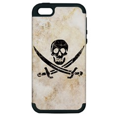 Pirate Apple Iphone 5 Hardshell Case (pc+silicone) by Contest1775858