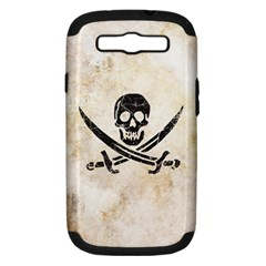 Pirate Samsung Galaxy S Iii Hardshell Case (pc+silicone) by Contest1775858