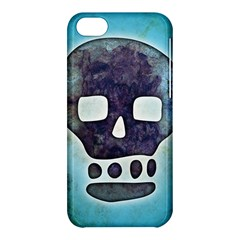 Textured Skull Apple Iphone 5c Hardshell Case by Contest1775858
