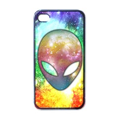 Space Alien Apple Iphone 4 Case (black)