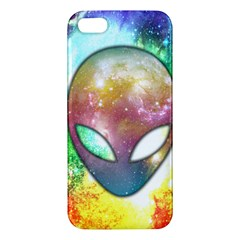 Space Alien Iphone 5 Premium Hardshell Case