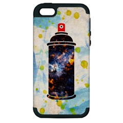Spray Paint Apple Iphone 5 Hardshell Case (pc+silicone) by Contest1775858
